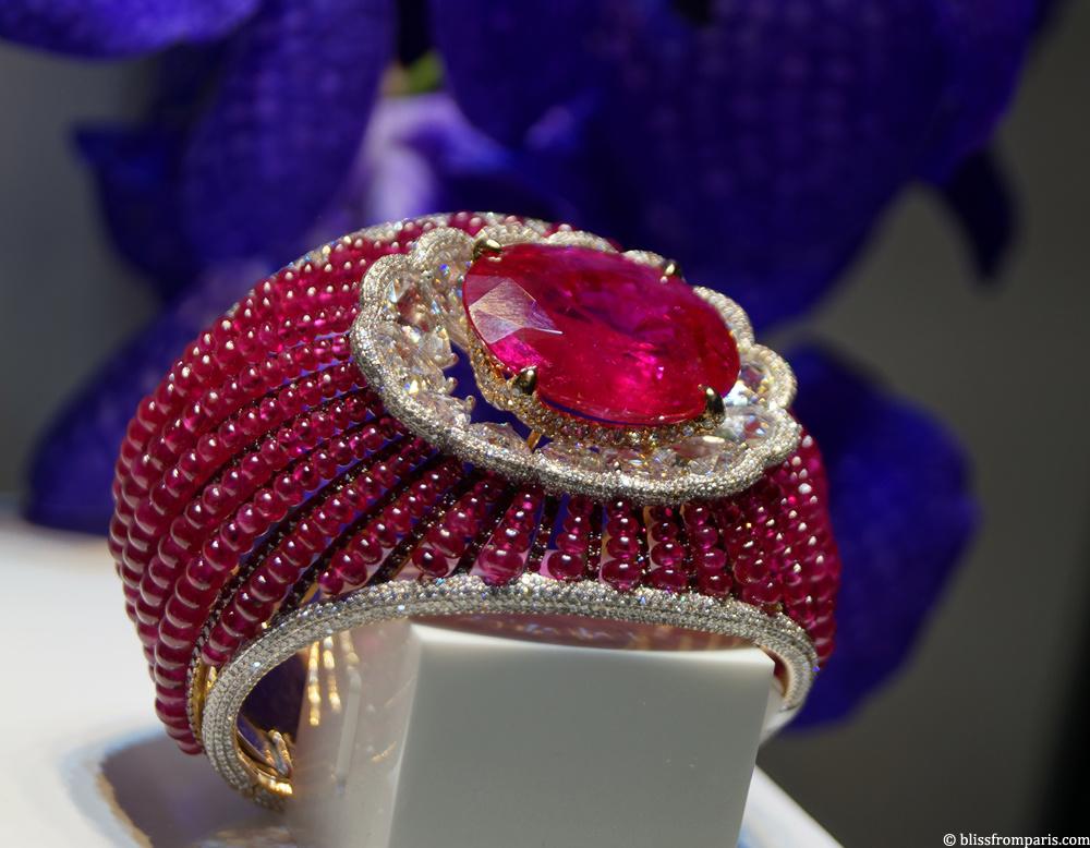 Bracelet de Chatila, rubis, diamants