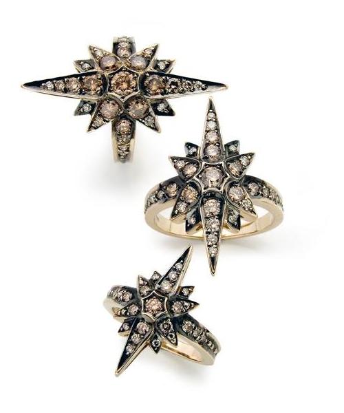 La collection Star , or noble, diamants cognac © H. Stern