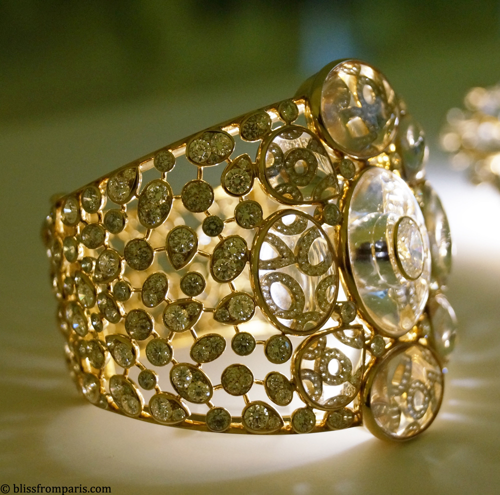 """Chanel, Manchette """"Magnétique"""" de la collection Les Talisman de Chanel"""