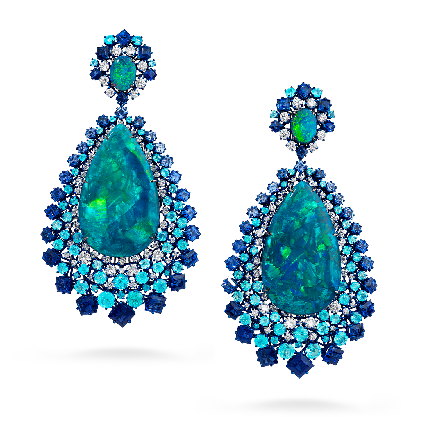 David Morris -Opals, tourmalines Paraiba,diamants et saphirs © David Morris