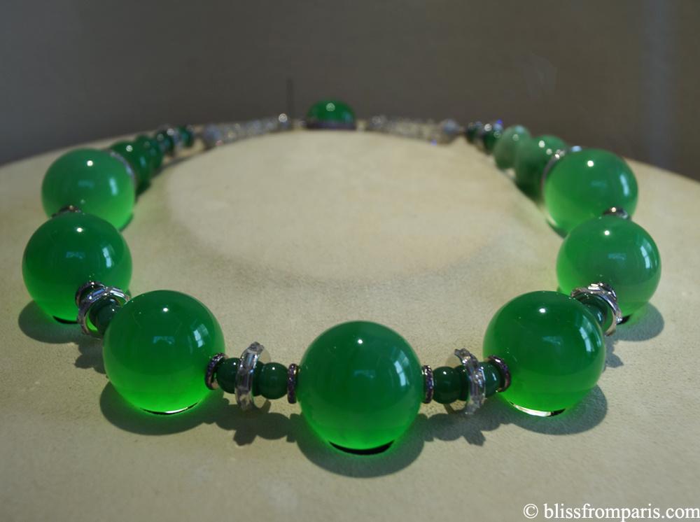 Collier avec jade impérial