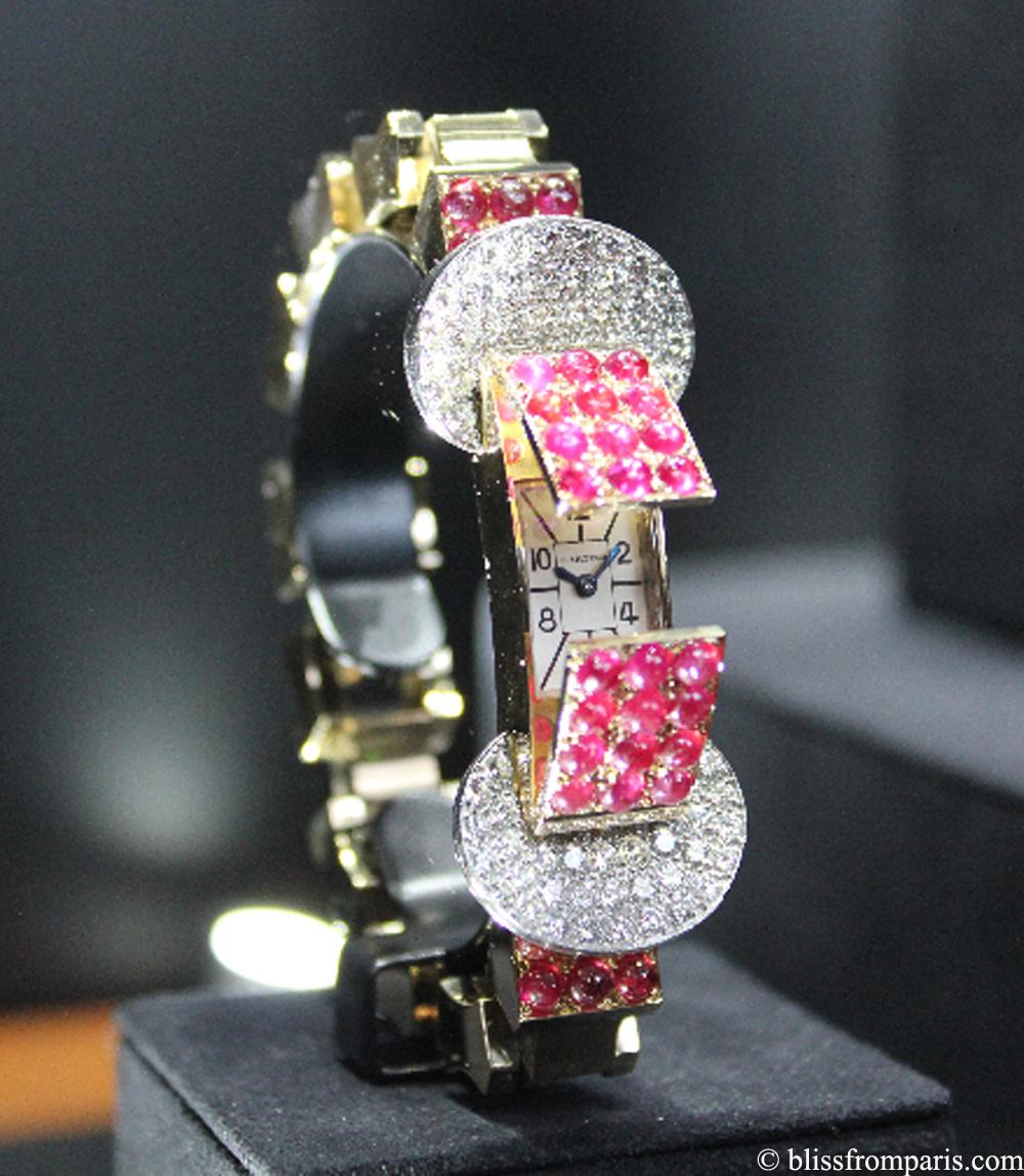 Bracelet-montre à volet de Cartier, 1942