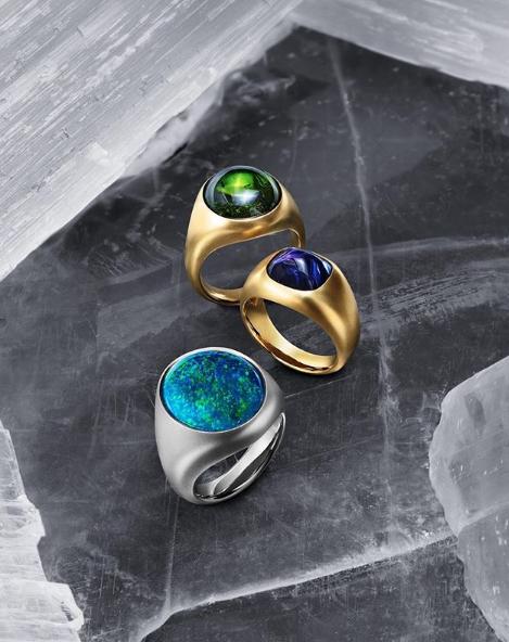 David Yurman-Signets rings