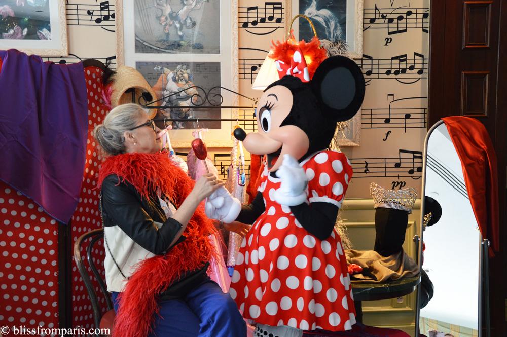 Servane Gaxotte et Minnie
