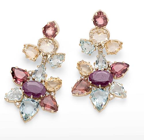La collection DVF, or jaune, diamants, pierres de coleur © H. Stern