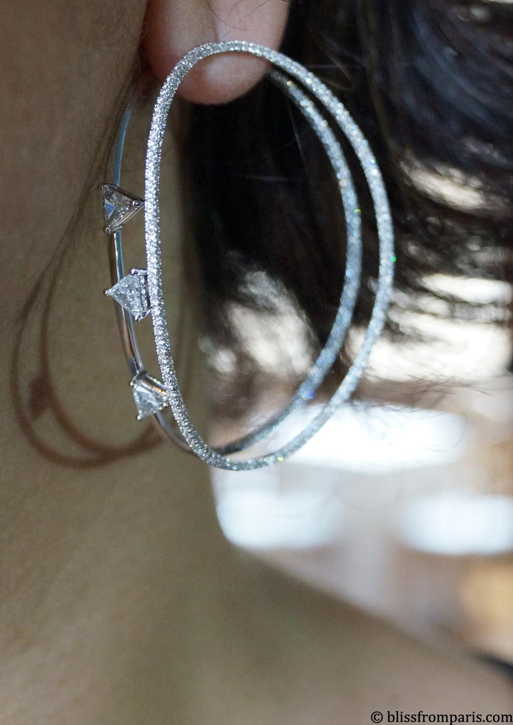 Boucle d'oreilles de Delfina Delettrez © Bliss from Paris