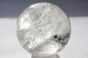 Boucle de cristal de roche